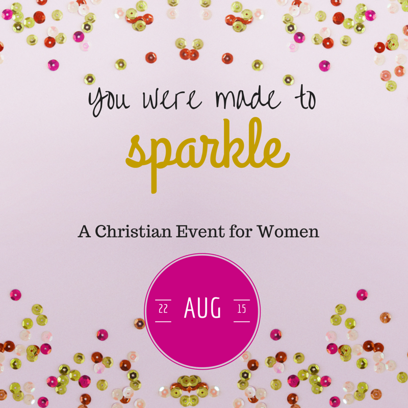 You were made to Sparkle - Save the Date
