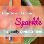 Having trouble pulling off family dinner? Not sure what to talk about? Try these 3 conversation starters to get everyone talking during family dinner time.