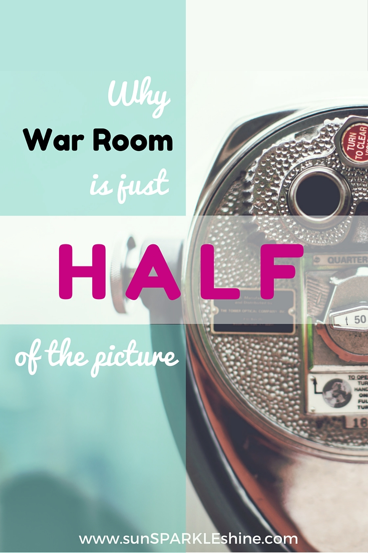 Have you seen the movie War Room? Did you know you might've missed half? Let insights from War Room inspire you to take take action and complete the story.