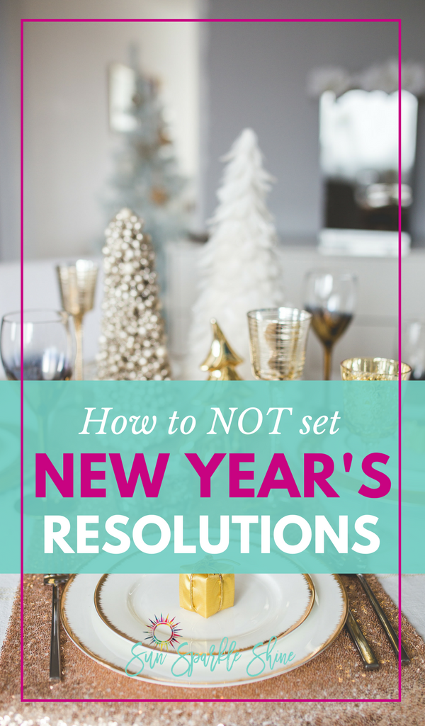 Are you tired of making New Year's resolutions and not keeping them? There's a better way. Use these 3 strategies to create a fulfilling & successful year. #goals #goalsetting #newyear
