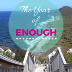 My One Word 2016 – The Year of Enough