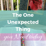 Are you burdened? Feeling overwhelmed or thinking life is unfair? This solution for feeling stressed is the one thing you need that will give you hope today