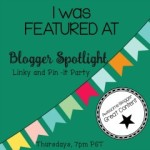 Blogger Spotlight Party featured button