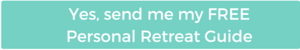 Personal Retreat Guide - Blog Button sunSPARKLEshine