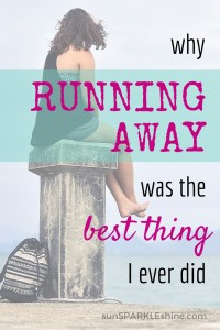 How to Stop Running Away (trust me, I know)