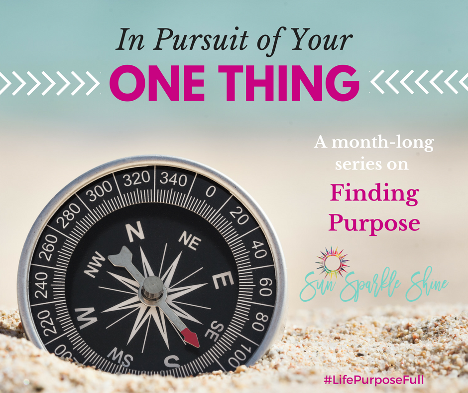 Are you seeking to fulfill your life purpose but not sure what that looks like? Join me for a series on finding purpose & living life to the full. We will search the scriptures together and seek God's direction for our lives. Leave the guilt and insecurities behind as we embark on a journey to find your one thing.