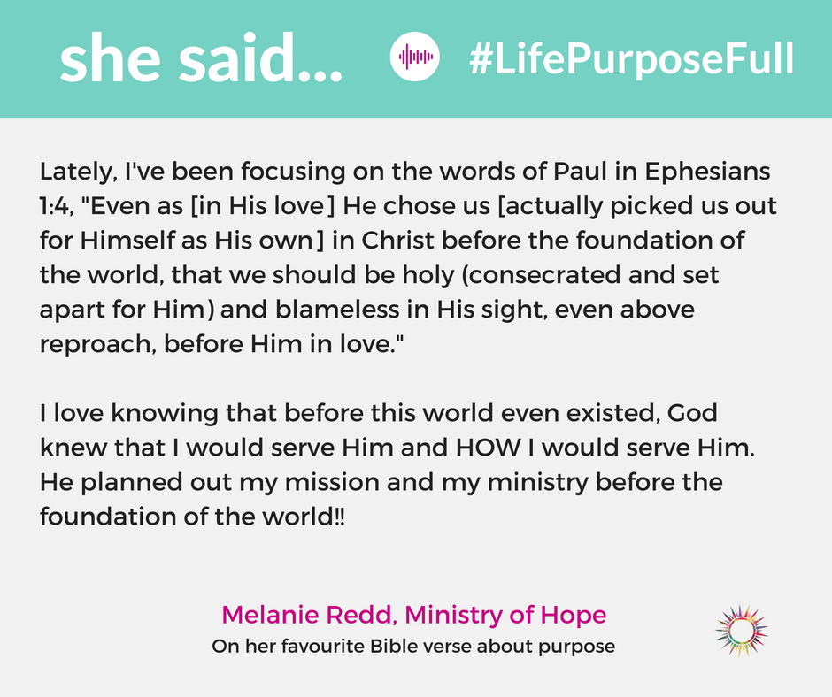 Do you have a fear of missing out on God's purpose in your life? Allow these 3 scriptures to encourage your soul and remind you of God's promises. This is part of the #LifePurposeFull series about seeking and fulfilling God's purpose in your life.