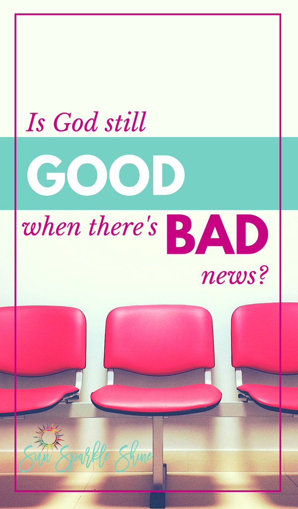 'God is good all the time' is something that we often say but do we really believe it? Is God still good when bad things happen? How do we respond when our faith is tested? God's Word tells us that while our troubles might be temporary, God's goodness lasts forever. Now that's good news!