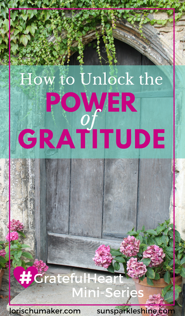 What if you were given the key to unlock the life-changing power of gratitude in your life? Is it possible? It took a light bulb moment for this to really click for me. Gratitude it turns out, is so much more than that fuzzy feeling you get when someone says 'thank you'. Gratitude is powerful enough to open doors!