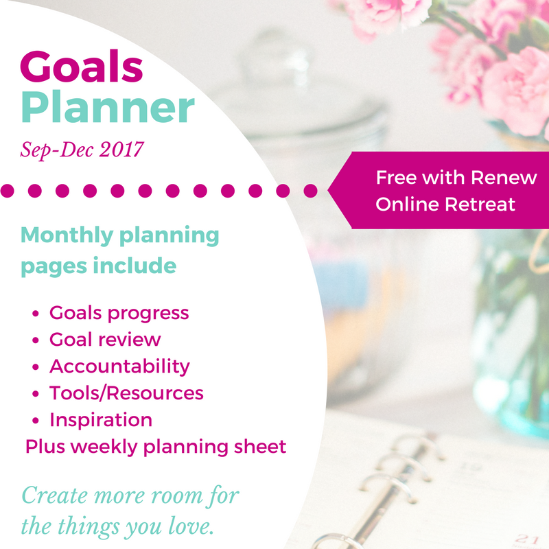 More than just a one-year calendar, the Goals Planner is your personal manual for setting goals in a way that will prepare you for an amazing year. SunSparkleShine