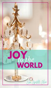 Joy to the World – A Christmas Reflection