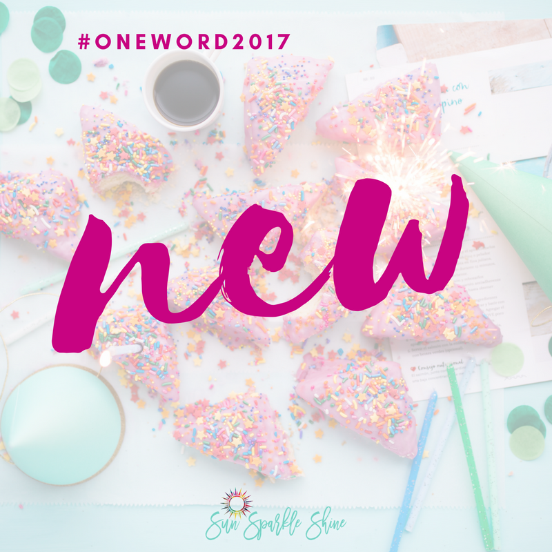 A new year doesn't stay new for very long. So how do you keep the spark of hope burning beyond the first month? Start each day with a new spark and your dreams will never get old. Plus read this to find my One Word for 2017.