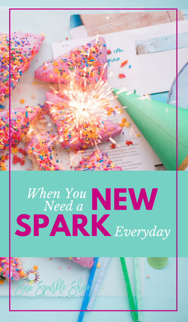 A new year doesn't stay new for very long. So how do you keep the spark of hope burning beyond the first month? Start each day with a new spark and your dreams will never get old.