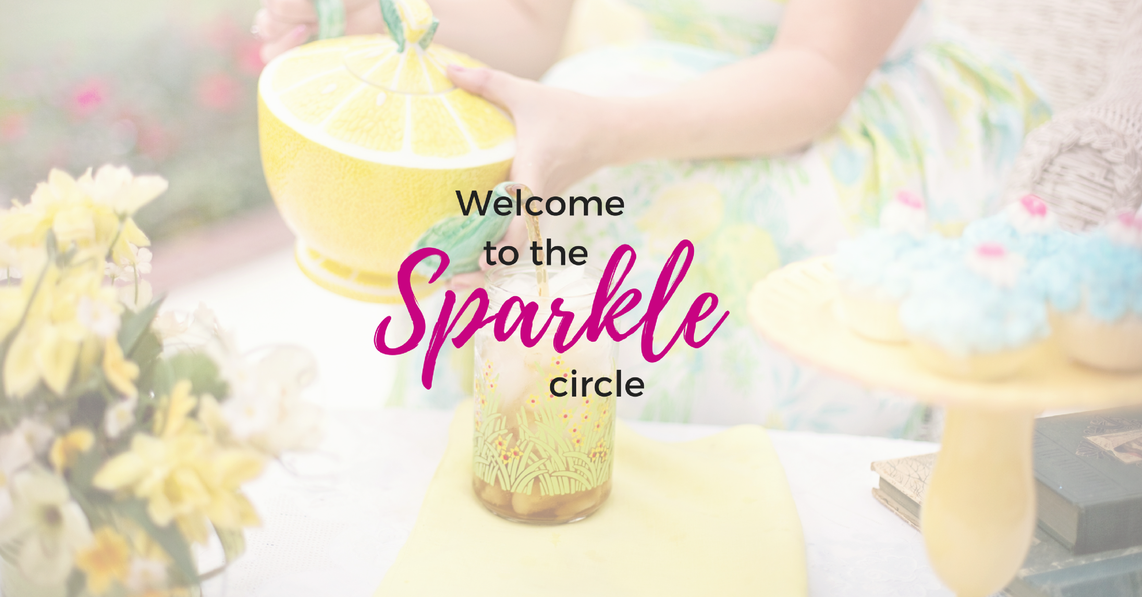 The friendship crisis plagues just about every modern woman but it's clear that we need friends even more than ever. Three sisters join together to create The Sparkle Circle where you're invited to lighten your load, share laughter and a happy tear or two. You're welcome here!