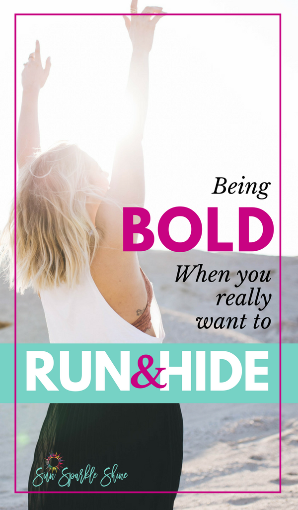 Have you ever prayed for boldness? When you do, just be sure you're ready for the bold move God asks you to make. Because when He calls you to embrace bold, he means it. Yet, He will never leave you alone. He will walk you through it. So, go ahead, be bold!