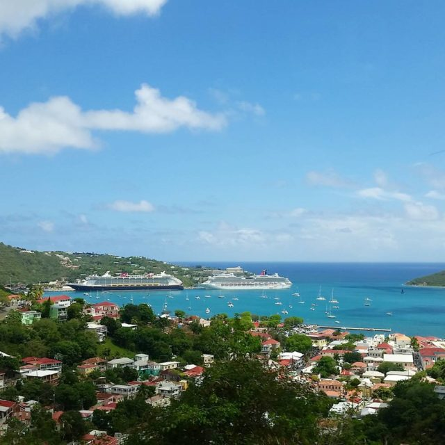 Enjoying the beauty of StThomas VI even though Im justhellip