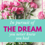 In Pursuit of the Dream You Never Knew You Had