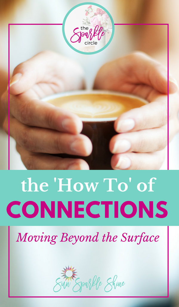 How do we connect with others beyond fleeting encounters? These 3 tips will help you build relationship connections on a deeper level.