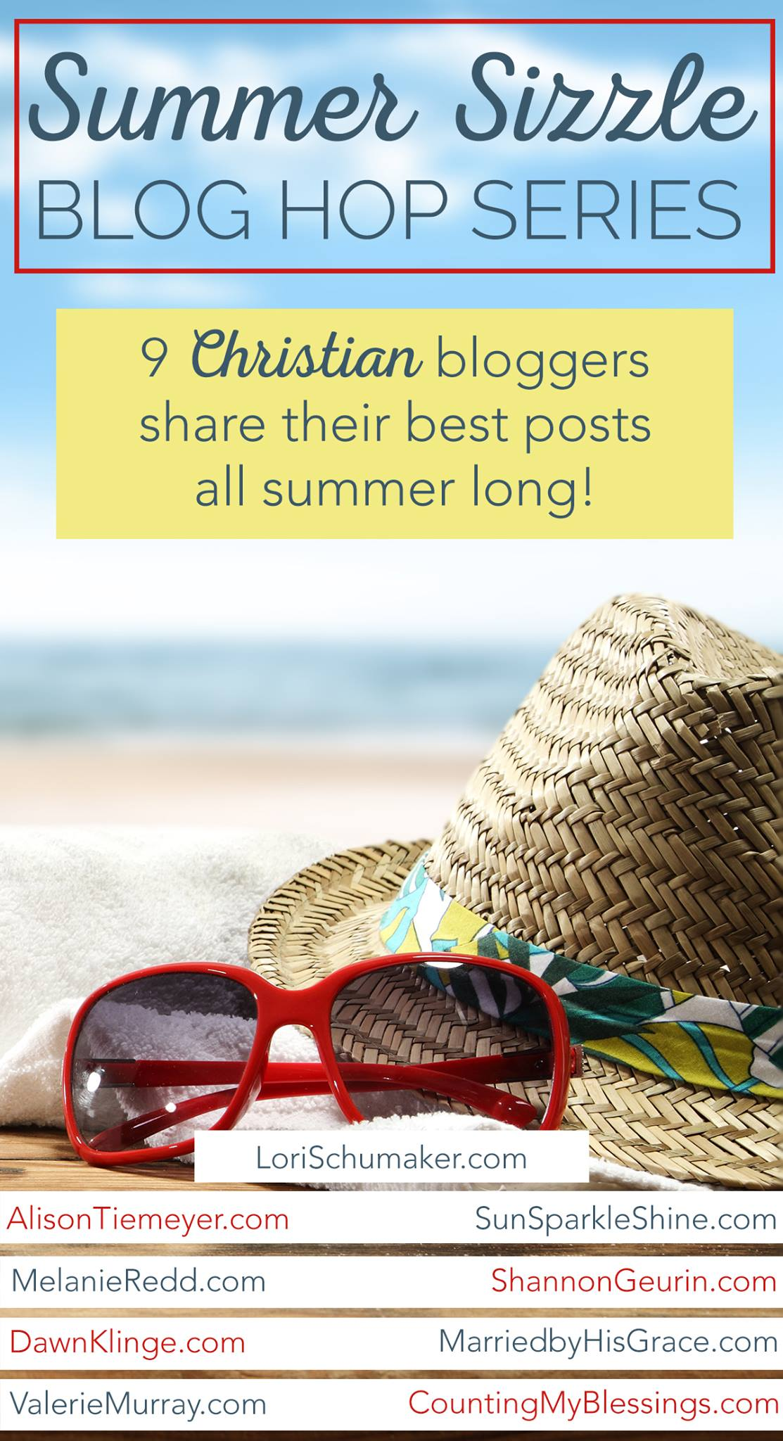 Summer Sizzle - all the best posts from 9 Christian bloggers | SunSparkleShine.com