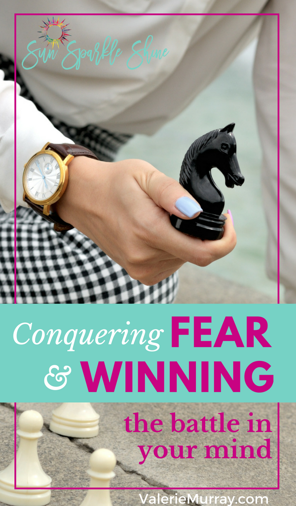 Need help conquering fear? Start here! SunSparkleShine.com