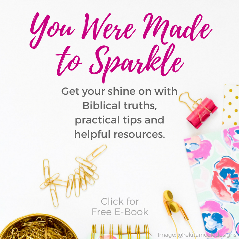 You Were Made to Sparkle - E-Book on SunSparkleShine.com