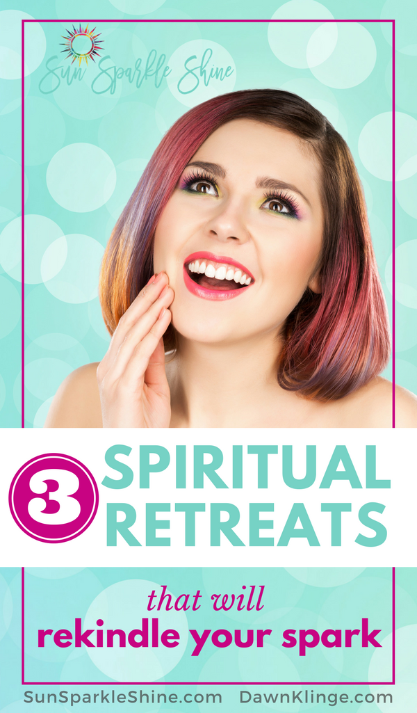 What better way to reconnect with God than these three spiritual retreats? SunSparkleShine.com