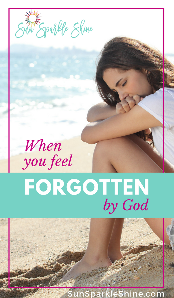 Ever felt forgotten by God? Be encouraged by these timeless truths as shared by someone who's been there. Plus some helpful tips for overcoming.