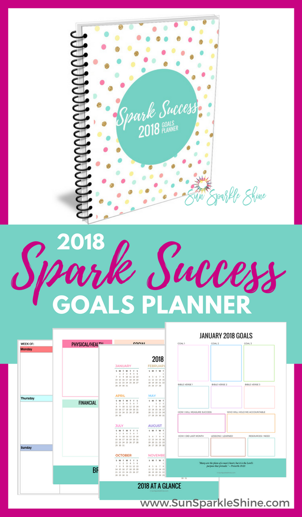 More than just a one-year calendar, the Goals Planner is your personal manual for setting goals in a way that will prepare you for an amazing year. I took my years of experience as a professional planner, advice from goal-setting gurus and biblical principles to create this amazing resource. It includes goal setting tips, monthly planning pages with goals progress and review, accountability, motivational quotes and so much more. Printable planner - pdf file | #planner #goals #calendar
