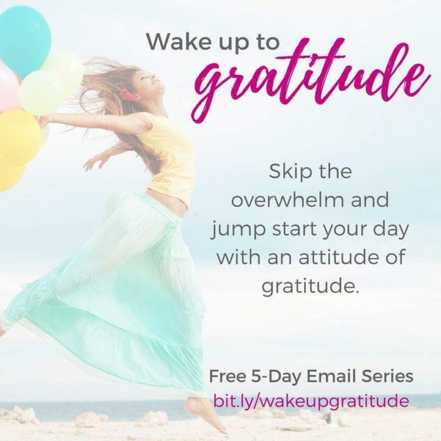 Im on a mission to wakeupgratitude  After a spellhellip