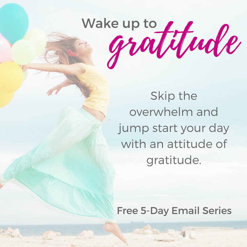 Wake up to Gratitude - Free 5-Day Email Series