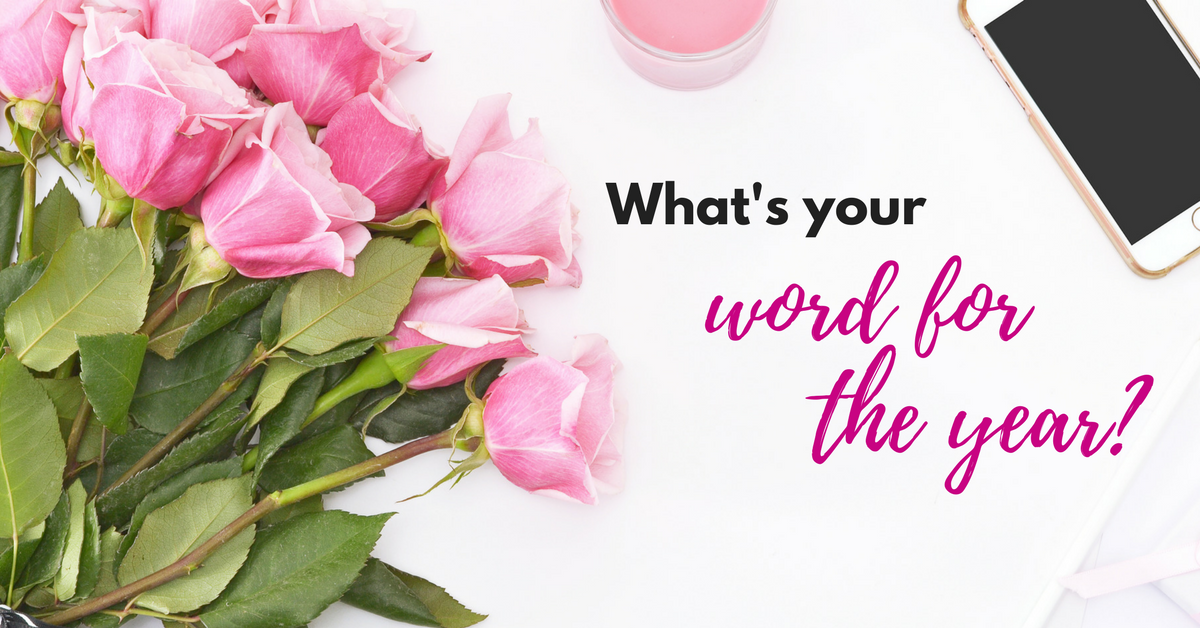 Do you have a word for the year? The past few years have taught me several valuable lessons one of which is that I should keep my word to myself...at least for now. Here's why. #oneword #goals #newyear #wordfortheyear
