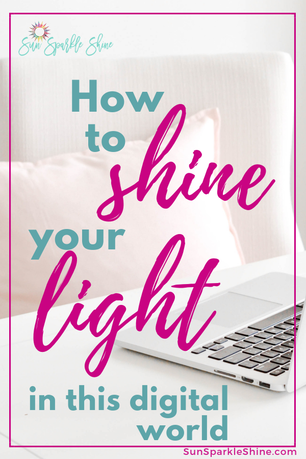 You've probably been encouraged to shine your light for Christ. Just one problem: you don't know how. These ideas will show you how to shine for Christ in this digital age.